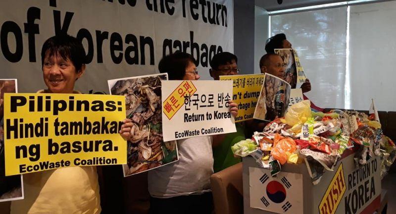 Ecological Waste Coalition, korea, phillipines