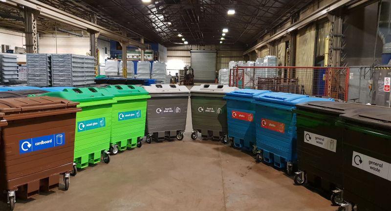 Egbert Taylor Group, waste, recycling, bin
