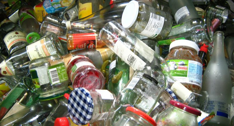 glass, recycling, hong kong, waste, bottles