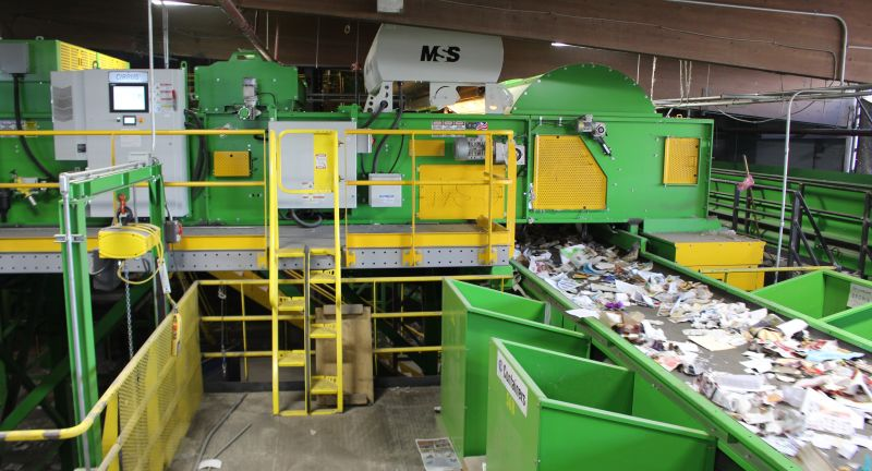 cp group, mss, optical sorting, recycling, waste, MRF
