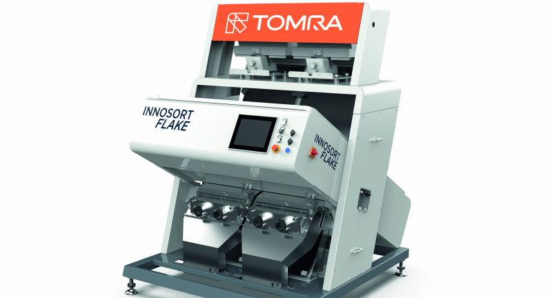 TOMRA Sorting Recycling, plastics, recycling, innosort flake, waste