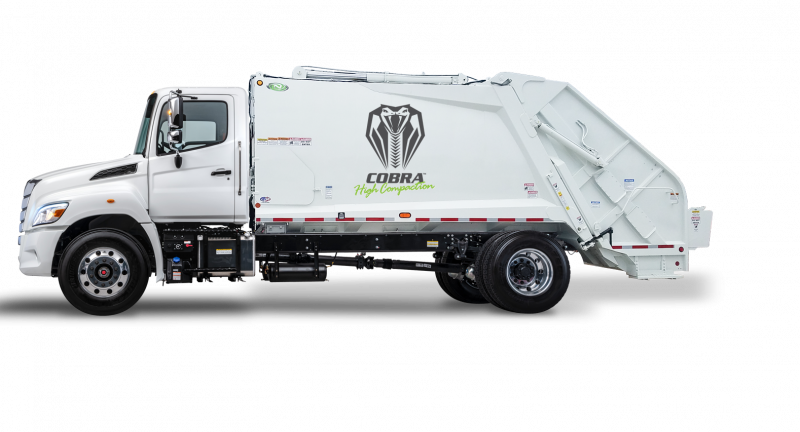 New Way Trucks, scranton, rcv, garbage truck, refuse collection vehicle