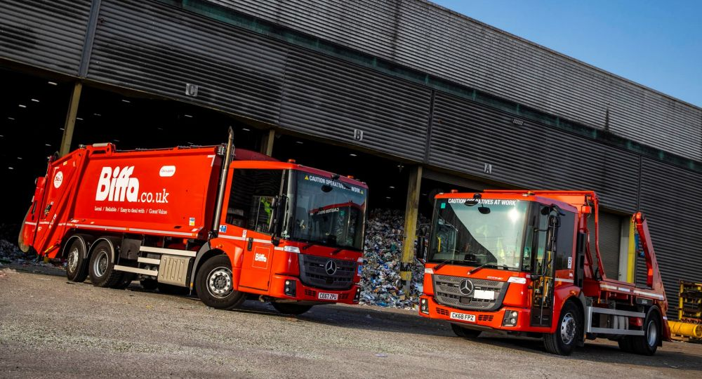 New Mercedes-Benz Econic Waste Collection Vehicles for Biffa