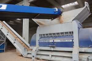 Lindner Recyclingtech, Wurzer Umwelt, wood waste, recycling