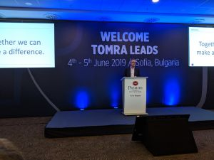 tomra, plastics, waste, recycling, circular economy, packaging, tom eng, Volker Rehrmann
