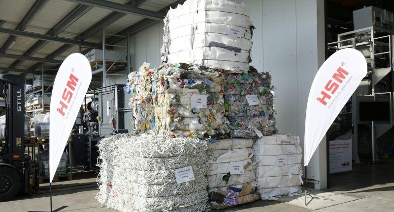 HSM, waste, baler, recycling