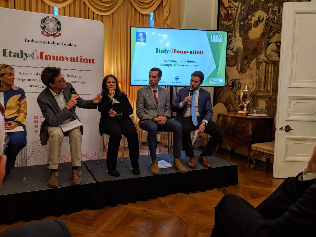 Italy's UK Embassy in London Goes For Zero Waste with Novamont's