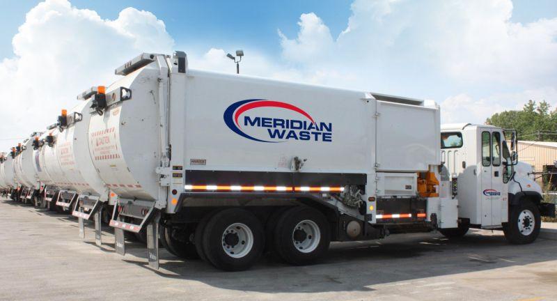 Meridian, Waste, truck, Wrens, Louisville, georgia, recycling