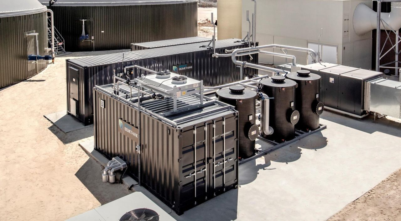 3-Stage Membrane for Biogas Upgrading Plants Coming to New