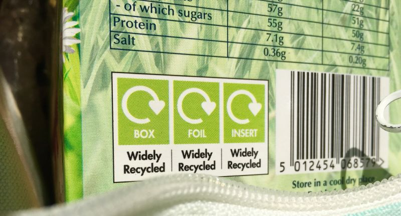 oprl, recycling, labels, packaging, ricardo