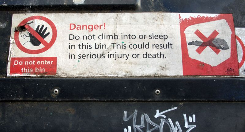 ciwm, waste, recycling, biffa, open, university, bins, homeless, sleeping