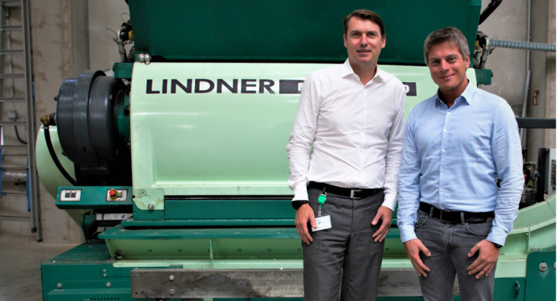 Lindner, recycling, plastics
