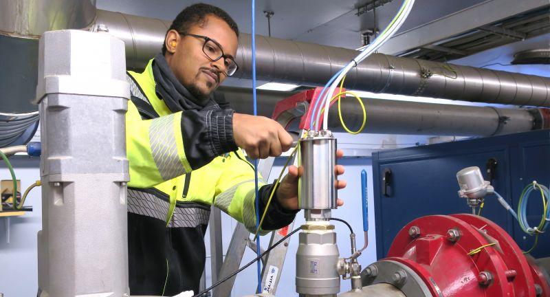 Vaisala, biogas, waste, humidity