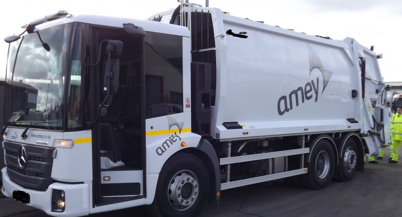 Innovative, Safety, Systems, amey, waste, recycling, refuse, collection, vehicle