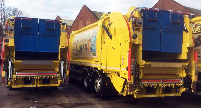 Geesinknorba, waste, recycling, rcv