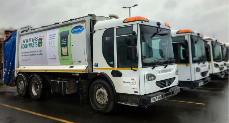 Cheshire, East, Council, Storengy, refuse, collection, vehicle, waste, rcv