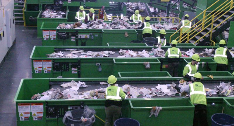 Waste, Management, Inc., As, You, Sow, Trillium, Asset, Management, plastics, recycling