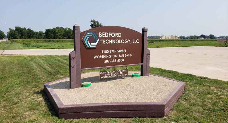 Bedford, Technology, recycling, hdpe, Tangent, Technologies