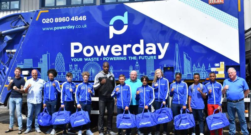 powerday, waste, recycling, london