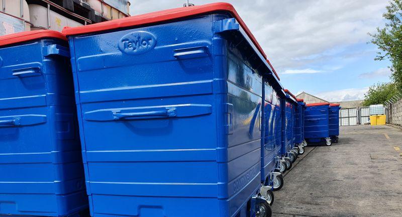 Egbert, Taylor, Axil, Integrated, Services, bins, waste, recycling, coronavirus