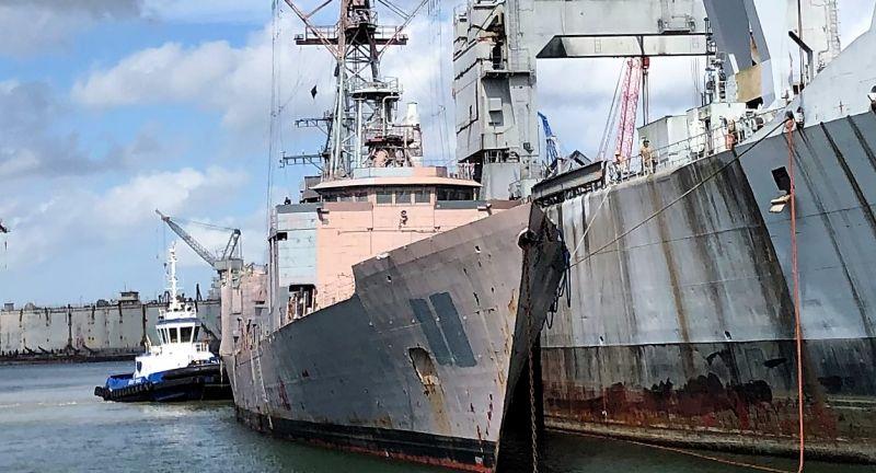 Hawes, scrap, recycling, ship, breaking