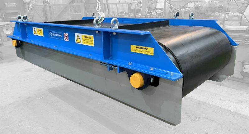 bunting, waste, recycling, magnets, scrap, ferrous, metals