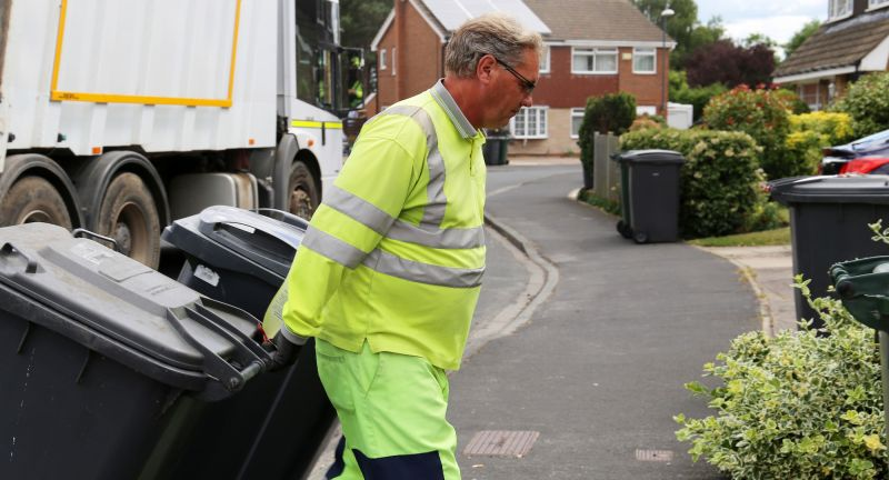 Waste, Recycling, Environmental Services, Operative: Bins