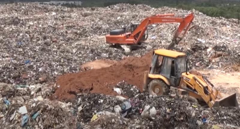 Mandur, landfill