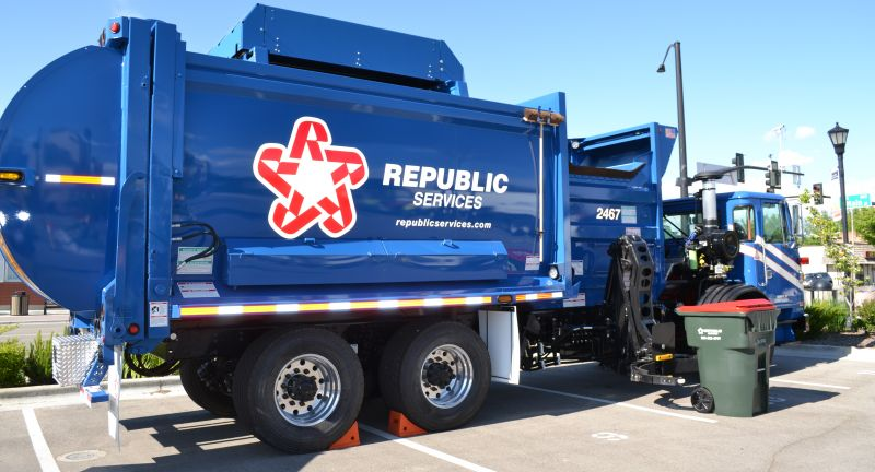 Republic Services, indiana, customer services