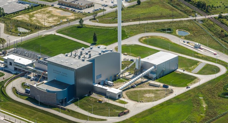 Durham York, waste to energy, covanta