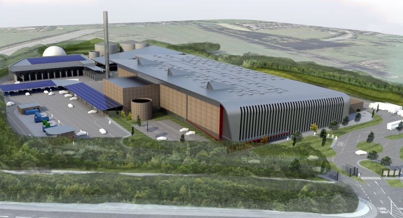 surrey, eco park, waste to energy, biogas, ge, jenbacher, clark energy