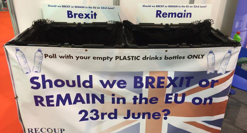 recoup, brexit, referendum, waste management, recycling, plastics