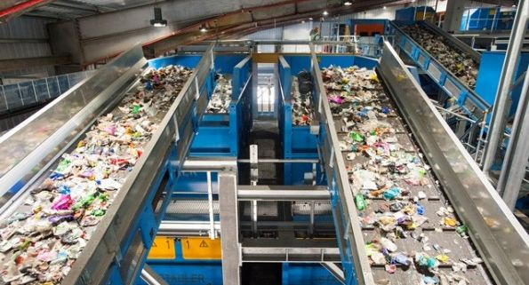 Viridor, recycling, kent, material recycling facility