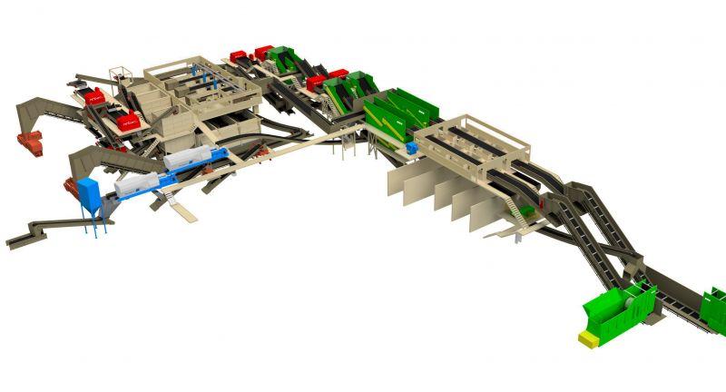 Bulk Handling Systems, recycling, MRF, Perth, Australia, Cleanaway