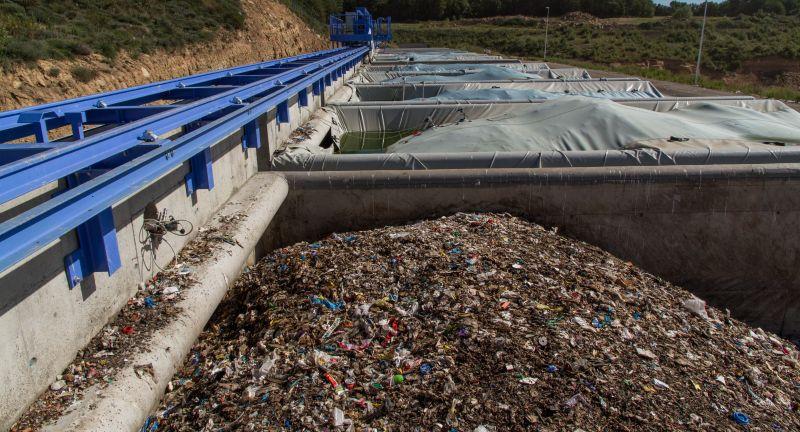 Masias Recycling, Covertech, srf, rdf, biodrying, waste, MSW