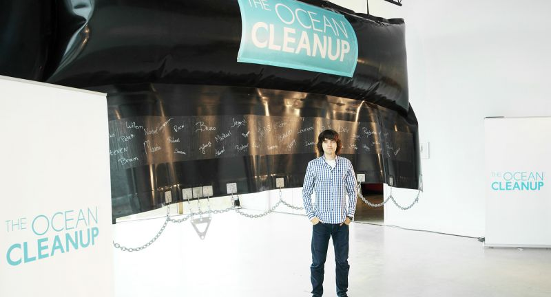 The Ocean Cleanup, marine debris, plastics