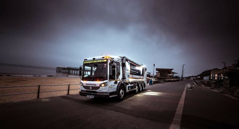 Dennis Eagle, refuse collection vehicle, bournmouth