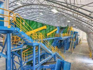 Bulk Handling Systems, florida, recycling, MRF, Emerald Coast Utilities Authority