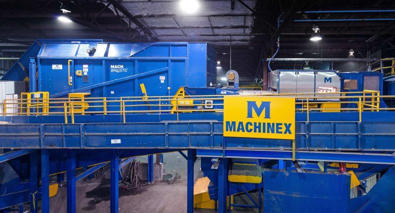 Machinex, EBI Environemental, REcycling, MRF, Quebec