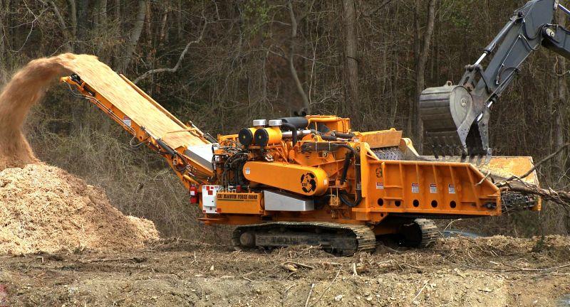 CBI, Terex Ecotec, compost, wood waste, shredder