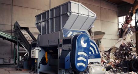 Lindner Recyclingtech, POlaris, waste shredding, RDF, SRF