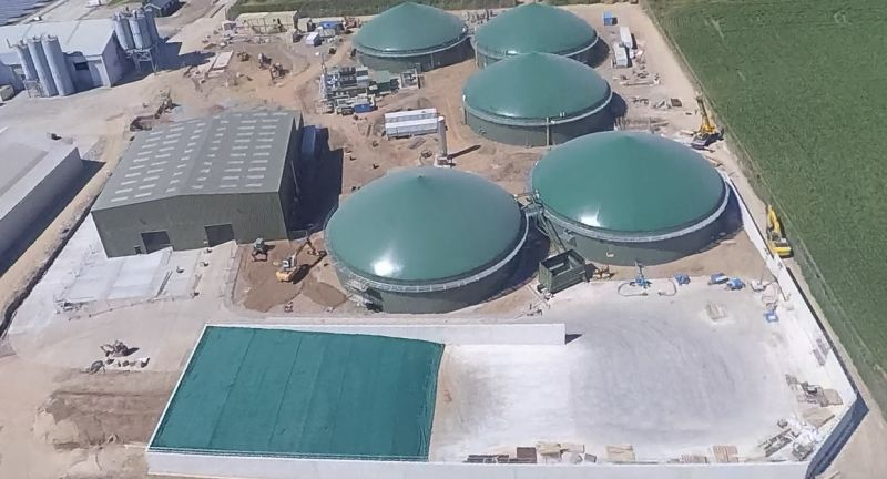 Agrivert, anaerobic digestion, biogas, food waste, wales